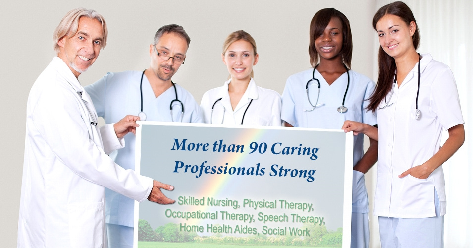 More than 90 Caring Professionals Strong